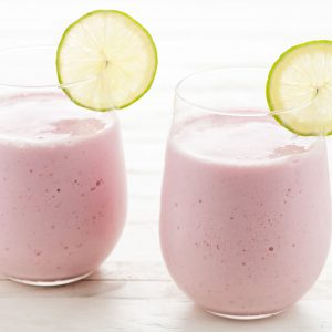 Strawberry Limeade Smoothie