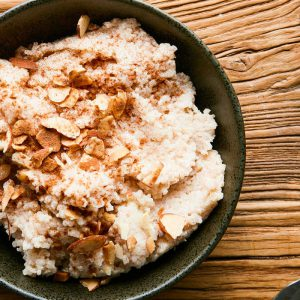Cinnamon Horchata Rice Pudding