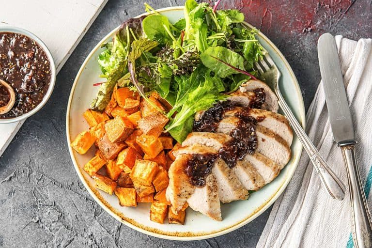 Hello Fresh - balsamic fig chicken